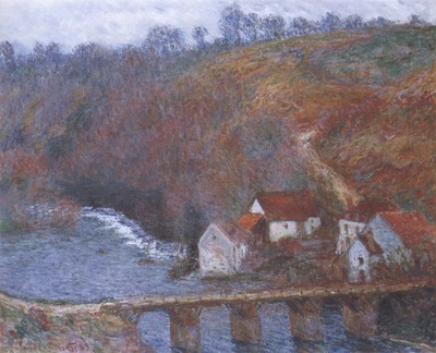 The Grande Creuse by the Bridge at Vervy [1889]