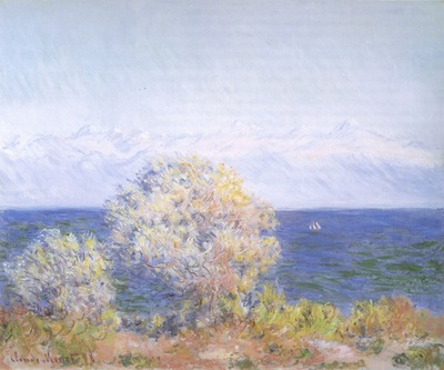 At Cap dAntibes, Mistral Wind [1888]