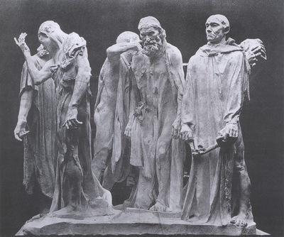 Auguste Rodin The Burges oif Calais [1889]