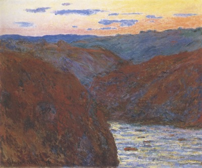 The Creuse, Sunset [1889]