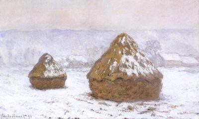 Grainstacks , Snow Effect [1890 1891]