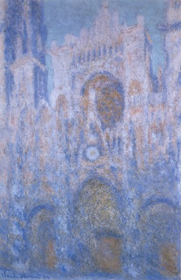 Rouen Cathedral, Symphony in Grey and Rose [1892]