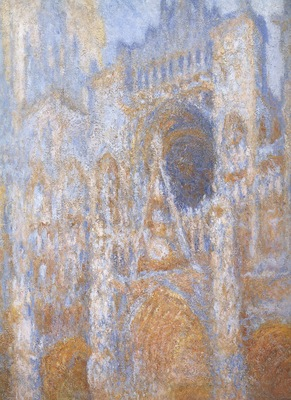 Teh Portal of Rouen Cathedral ate Midday [1893]