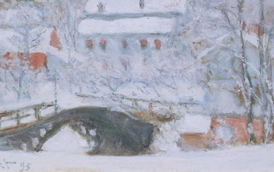 Sandviken Village in the Snow [1895]