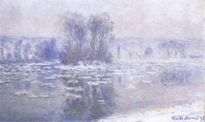 Floes at Bennecourt [1893]