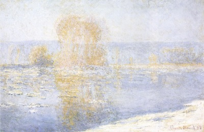 Floating Ice at Bennecourt [1893]
