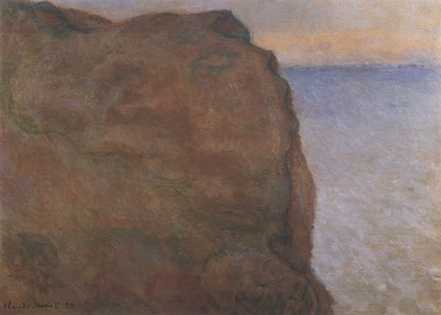 The Cliff at Le Petit Ailly, Varengeville [1896]