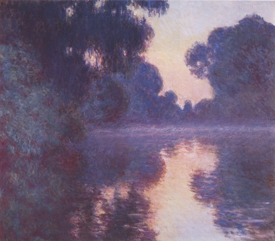 Arm of the Seine near Giverny at Sunrise [1897]