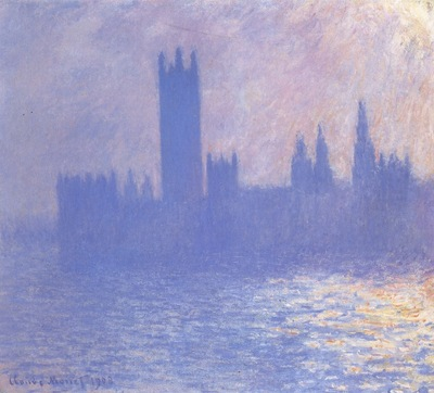 Houses of Parliament, Sunlight Effect [1900 1901]