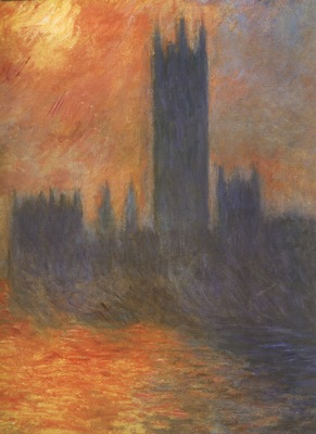 Houses of Parliament, Sunset [1900 1901]