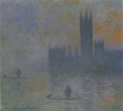 Houses of Parliament, Fog Effect [1900 1901]