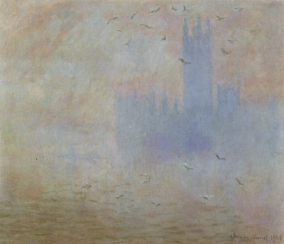 Houses of Parliament, Seagulls [1900 1901]