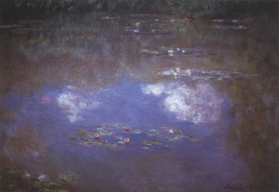 Water Lily Pond The Clouds [1903]