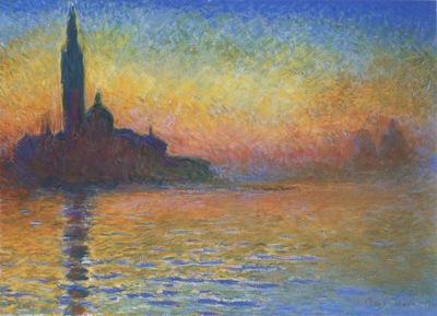 San Giorgio Maggiore at Dusk [1908]