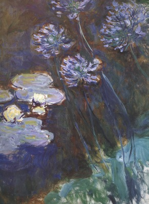 Water Lilies and Agapanthus [1914 1917]