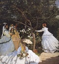 Women in the Garden [1866]
