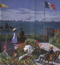 Garden at Sainte Adresse [1867]