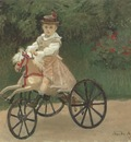 Jean Monet on his Horse Tricycle [1872]