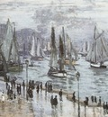 Fishing Boats Leaving the Port of Le Havre [1874]