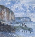 The Cliffs of Les Petites Dalles [1880]