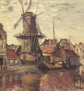 The Windmill on the Onbekende Gracht [1874]