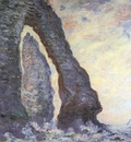 The Rock Needle Seen through the Porte dAval [1885 1886]