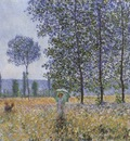 Sunlight Effect under the Poplars [1887]