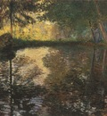 The Pond at Montgeron [1876]