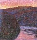 The Creuse at Sunset [1889]