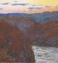 The Creuse, Sunset [1889]