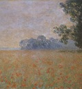Oat and Poppy Field [1890]