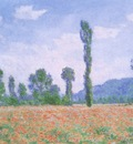 Poppy Field at Giverny [1890]