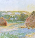 Grainstacks at the End of the Summer, Evening Effect [1890]