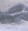 Mount Kolsaas in Misty Weather[1895]