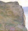 On the Cliff at Le Petit Ailly in Grey Weather [1896]