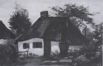 cottage with trees, nuenen