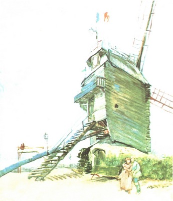 le moulin de la galette, paris