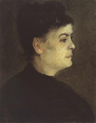 portrait of a woman, paris 1886