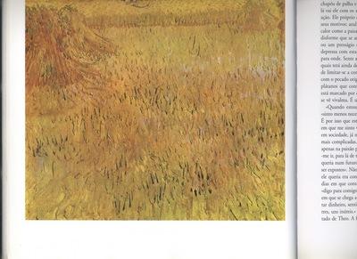 a  vista field of wheat at arles, arles