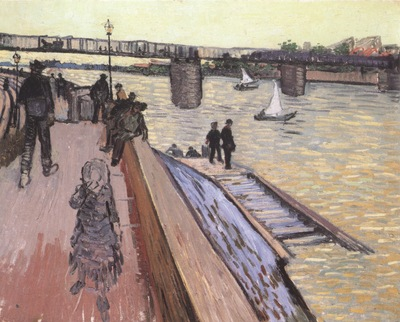 the trinquetaille bridge, arles