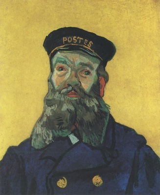 portrait of the postman joseph roulin, arles