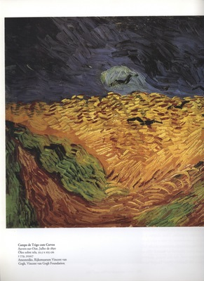 a  wheatfield with crows, auvers sur oise in
