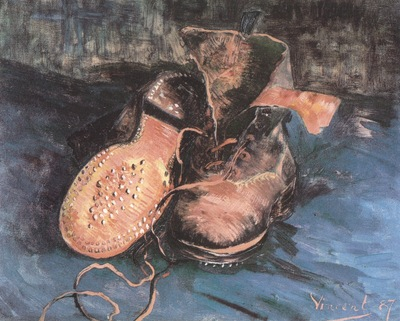a pair of shoes, paris