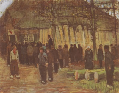 a woods auction, nuenen