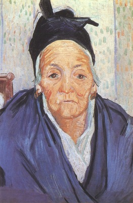 an old woman of arles, arles
