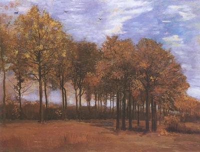 autumn landscape, nuenen