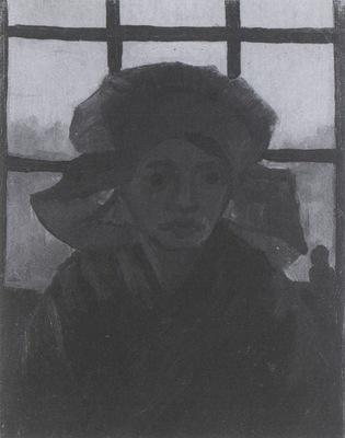 female peasant near the window, nuenen