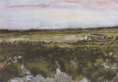 heathland with a wheelbarrow, haia