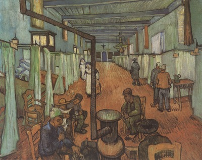 inside the arless hospital, arles