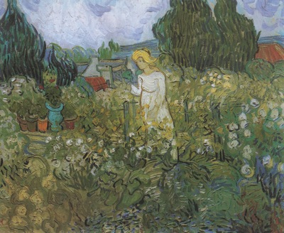 marguerite gachet in the garden, auvers sur oise